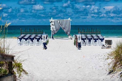 Nautical Tide Themed Beach Wedding