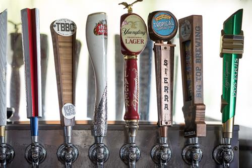 Award-winning Happy Hours, full bar + locally brewed craft beer selections