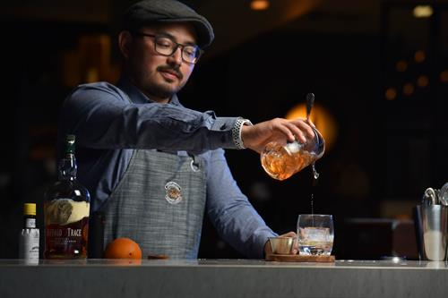 Enjoy the classics as well as handcrafted cocktails