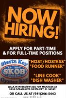 Food Runner & Host