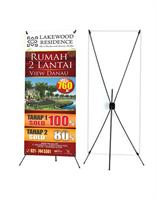 x-banner stand design print and stand
