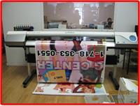 printing a large-format Banner
