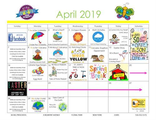 April Happenings!
