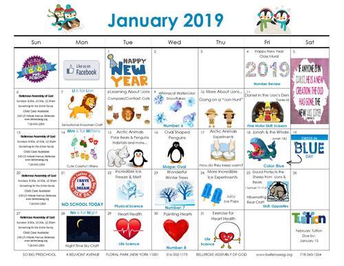 January Happenings!