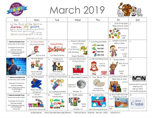 March Happenings!