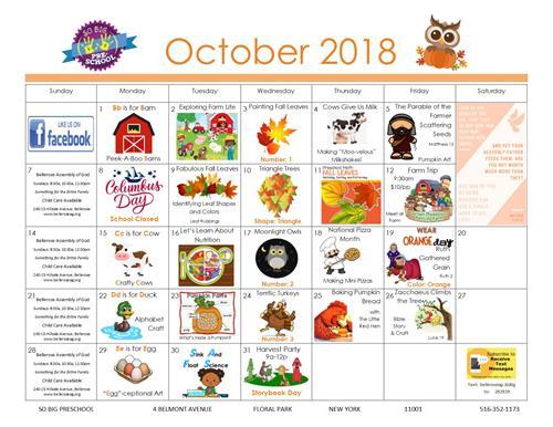 October Happenings!