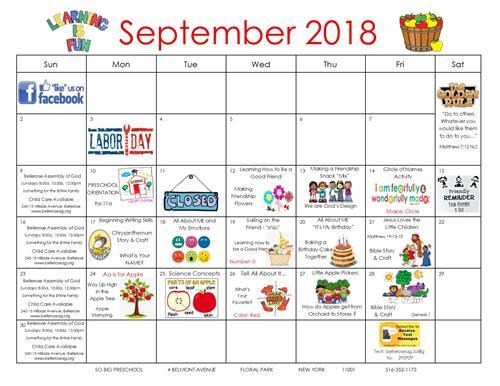 September Happenings!