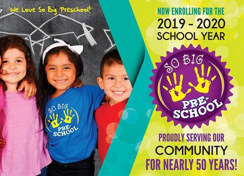 Register Now for the 2019-2020 School Year!