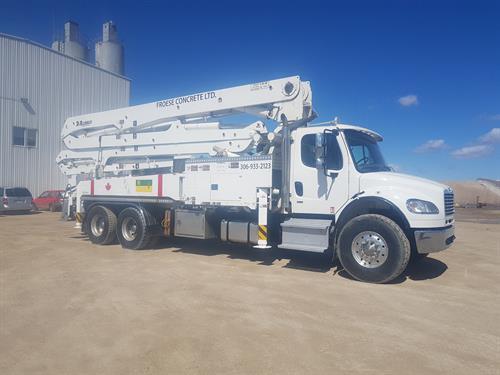 concrete pump services available