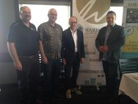 Interview with Vaughn Wyant at the wake-up breakfast for the Warman Chamber
