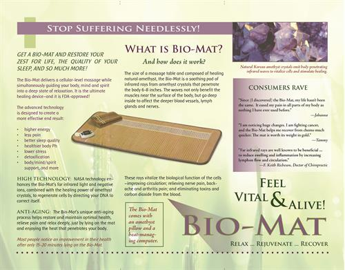 Bio-Mat Brochure