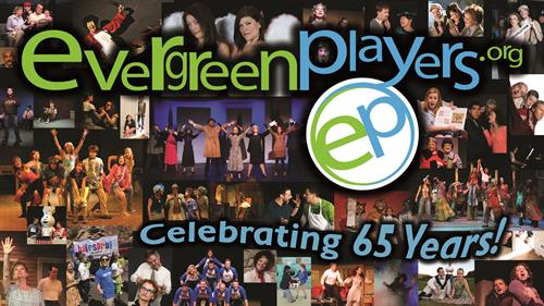 Evergreen Players - 65th Anniversary pposter
