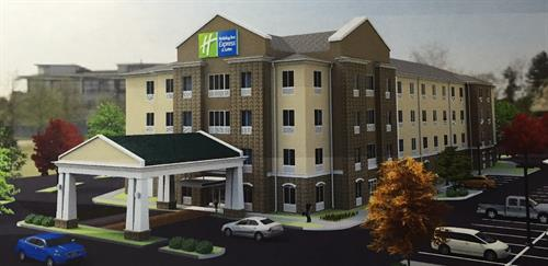 Holiday Inn Express & Suites Front View