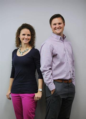 Dr. Vance and Dr. Alysha Schuring