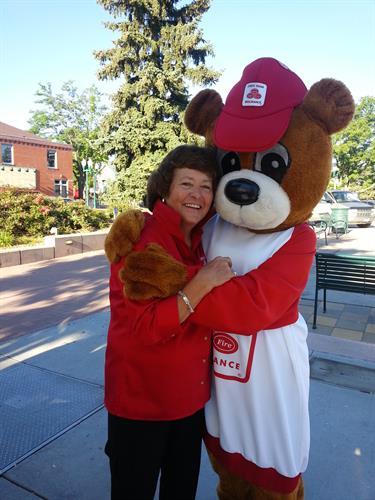 Doris loves giving back to the community!