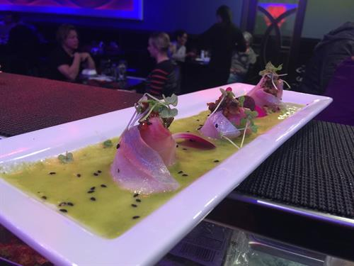 Red Snapper Sashimi Special