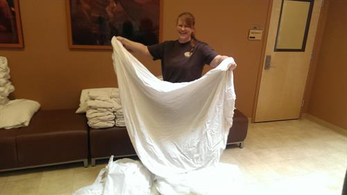 Donating Linens to Valor Point