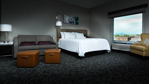 The hotel's most premium room type.  King Premium Deluxe