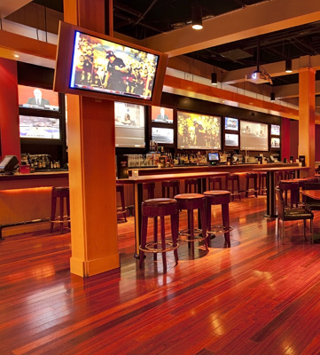 Come watch a game in our bar area!