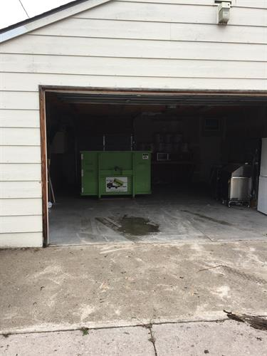 Garage placement