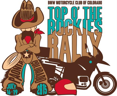 T-shirt design for a Motorcycle Rally