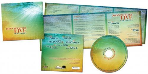 CD, CD cover and lyric insert design