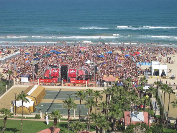 Spring Break Beach Stage