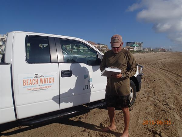 www.texasbeachwatch.com  - water quality monitoring at South Padre Island