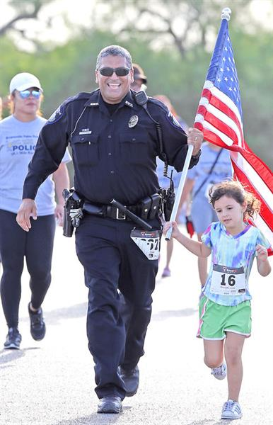 Run With the Police - September 30, 2017 at Brownsville Sports Park