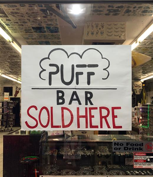 Puff Bar in stock