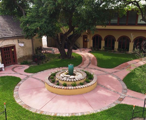 Rio Grande City Courtyard