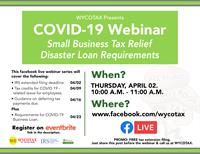 Covid-19 Tax Relief Webinar