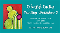 Colorful Cactus Painting Workshop