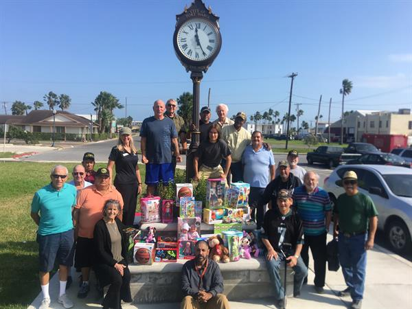 PI Veterans United Toys for Tots drive