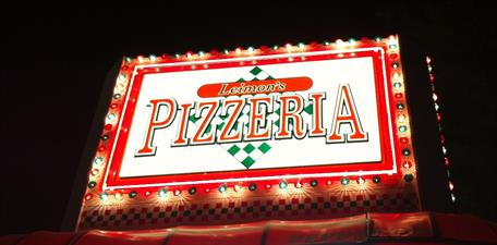 Leimon's Pizzeria,  Big Tex Funnel Cake