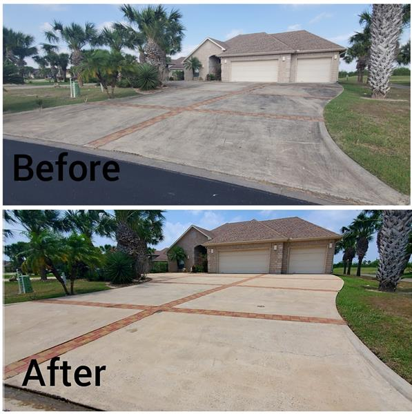Take pride in your home by getting rid of those embarrassing stains in your driveway!