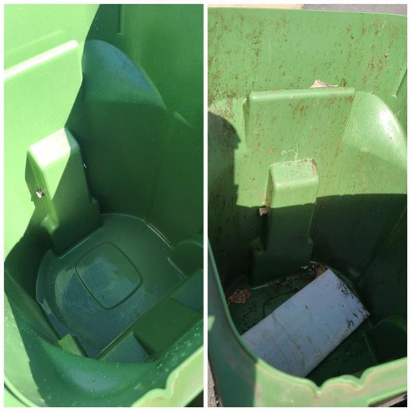 Trash can Cleaning/Sanitizing * Call us TODAY at (956) 459-2166