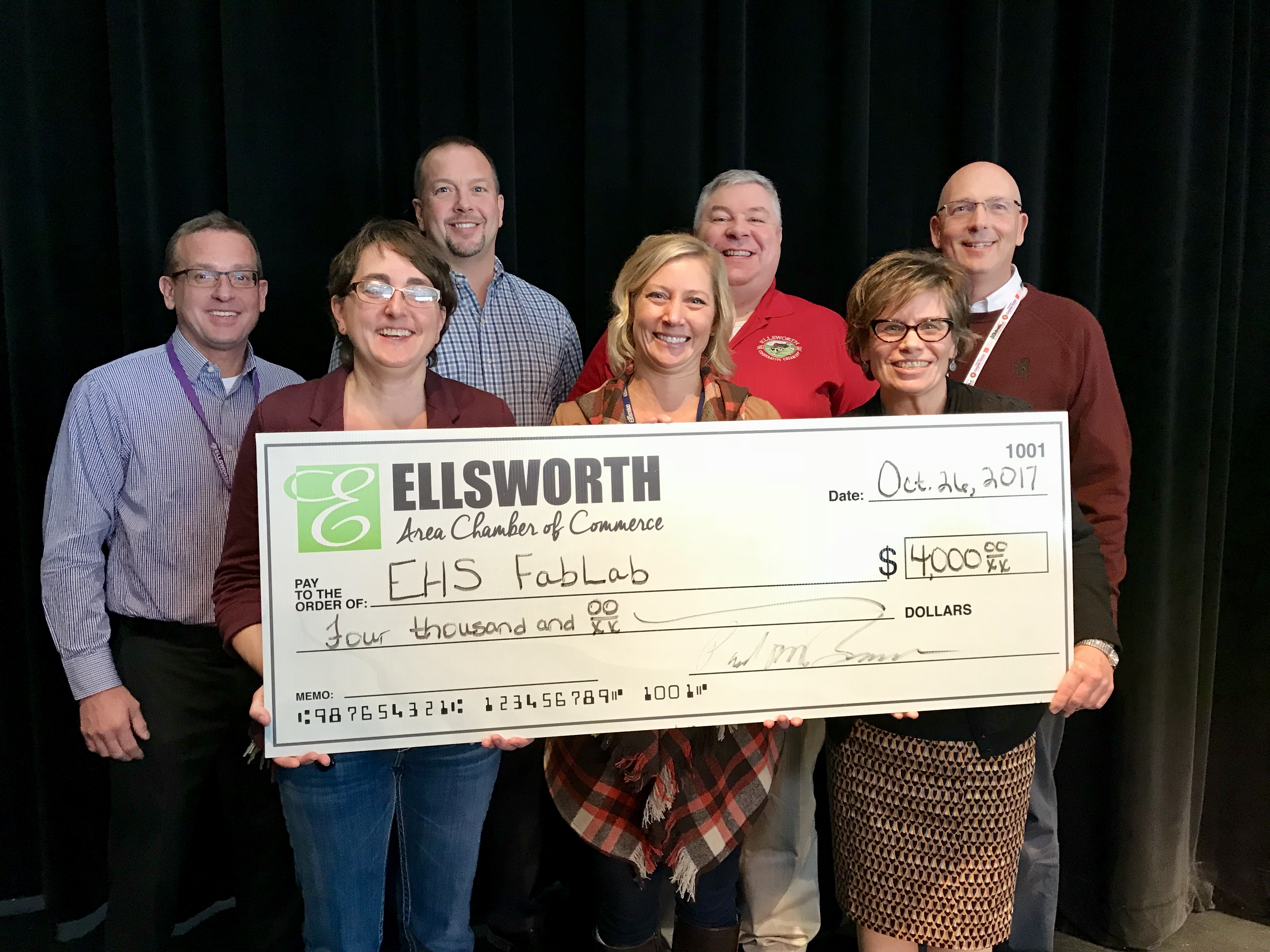 Image for Ellsworth High School Receives Funds for FabLab Upgrade