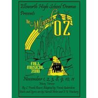 Ellsworth High School Drama presents - The Wizard of Oz