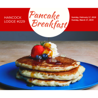 Hancock Lodge #229 - Pancake breakfast