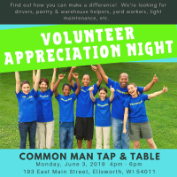 1st Annual Volunteer Appreciation Night - Hunger Prevention Council of Pierce County