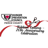Hunger Prevention Council/Pierce County Food Pantry - Ribbon Cutting & 20th Anniversary Celebration
