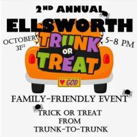 Ellsworth Trunk or Treat - Sponsored by St. Francis Youth Ministry