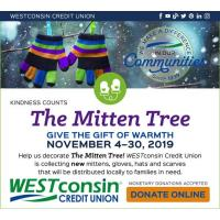 2019 Mitten Tree - WESTconsin Credit Union
