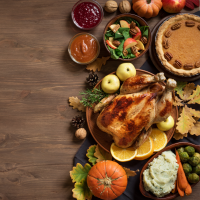 Traditional Thanksgiving Buffet at West Wind Supper Club
