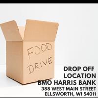 Food Drive Drop Off Location - BMO Harris Bank