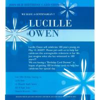 Lucille Owen turns 100 years young