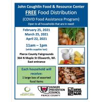 FREE Food Distribution Drive Thru Event