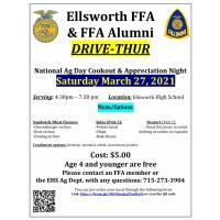 Drive-Thru Ag Day Cookout