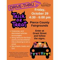 Drive-Thru Trick or Treat - Sponsored by the Ellsworth Public Library